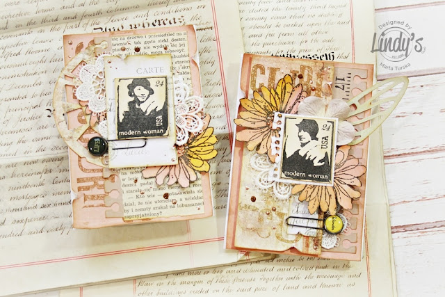 Cards with Stampotique stamps
