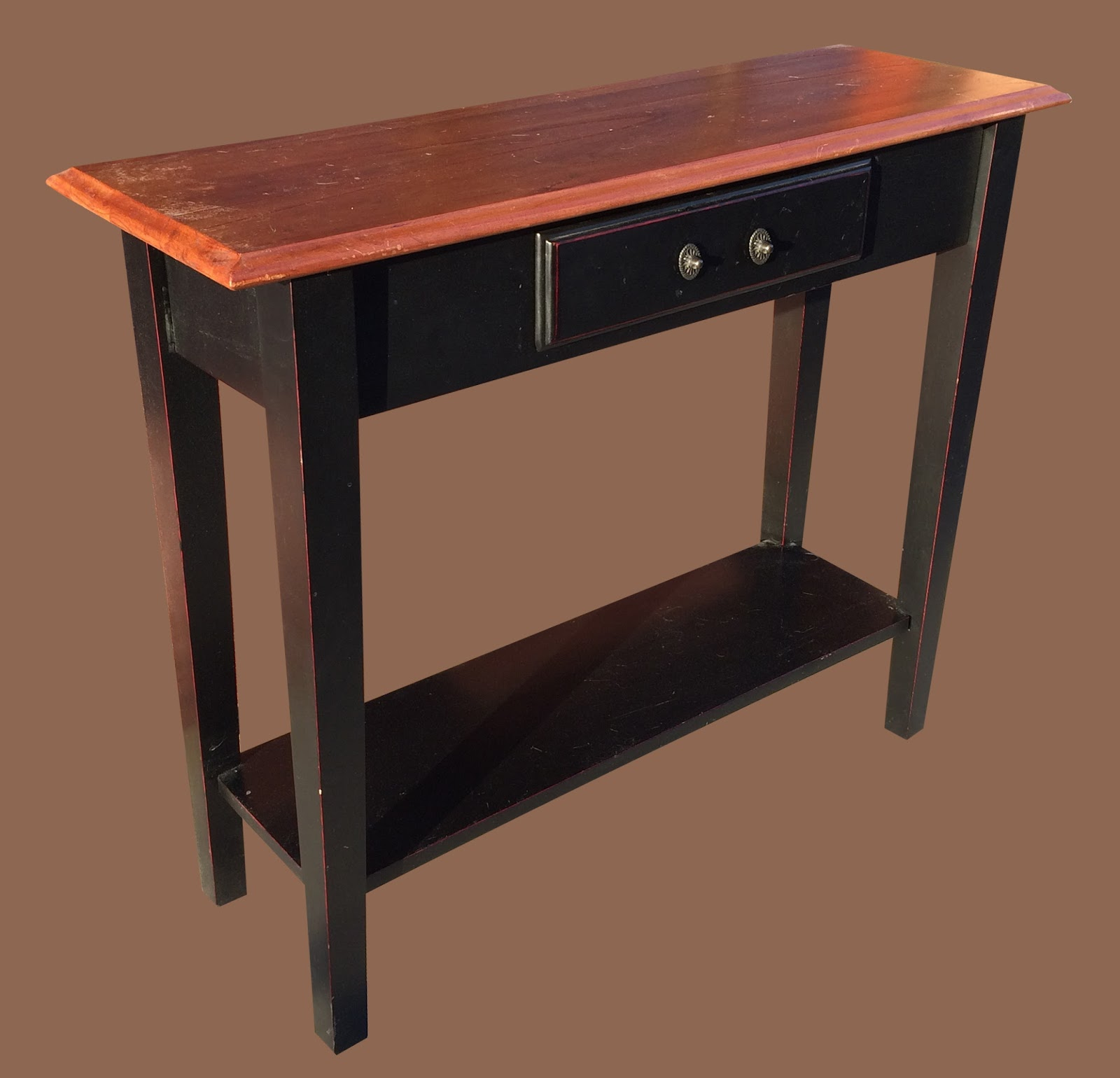 Uhuru furniture collectibles small sofa table 65 sold for 65 sofa table