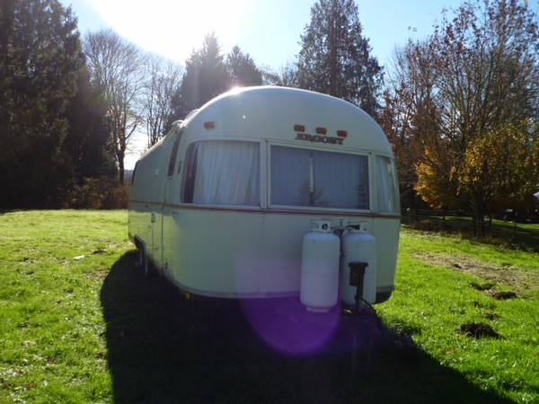 Vintage Airstream Argosy Travel Trailer