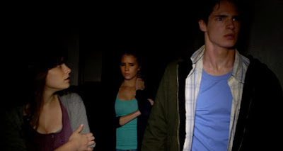 A Still from The Gallows, Directed by Travis Cluff and Chris Lofing, starring Reese Mishler, Pfeifer Brown, Ryan Shoos