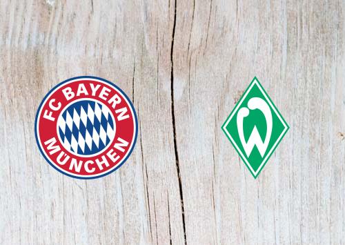 Bayern Munich vs Werder Bremen Full Match & Highlights 20 April 2019