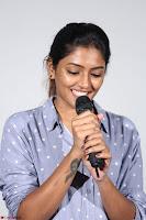 Poojita Super Cute Smile in Blue Top black Trousers at Darsakudu press meet ~ Celebrities Galleries 007.JPG