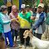 Berhadiahkan Se Ekor Kambing Hamil, Warga Tretek Berlomba Lomba Ikuti Jalan Santai