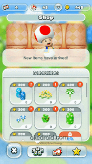Membeli Item di Shop Super Mario Run