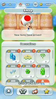 Membeli Item di Shop Super Mario Run