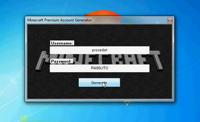 Windows And Android Free Downloads Minecraft Premium Account Generator Full All