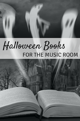 Halloween books for the music room: Favorite picture books for your elementary music lessons!