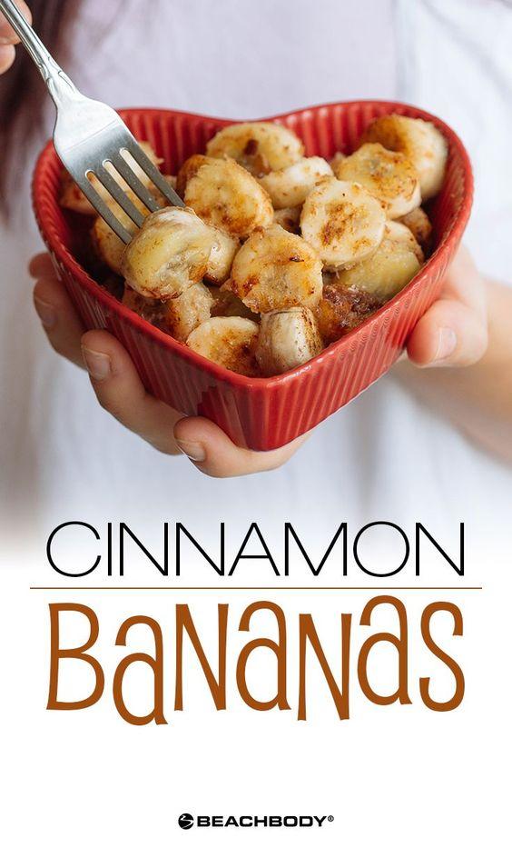 Cinnamon Bananas