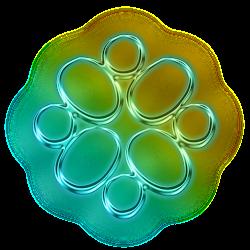 neon instagram icon social glowing logos polish asphyxiation mish mash challenge
