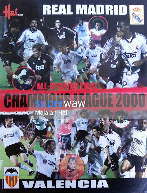 All Spanish Final Champions League 2000