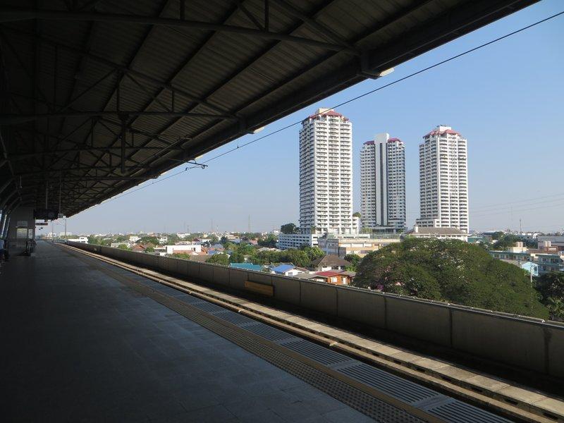 Вид со станции Hua Mak
