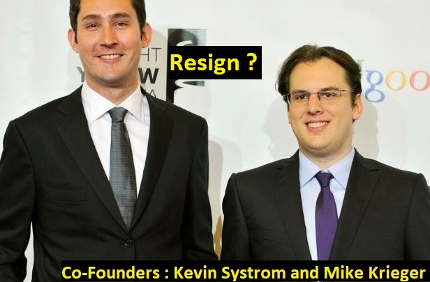 Instagram founders Kevin Systrom and Mike Krieger resign