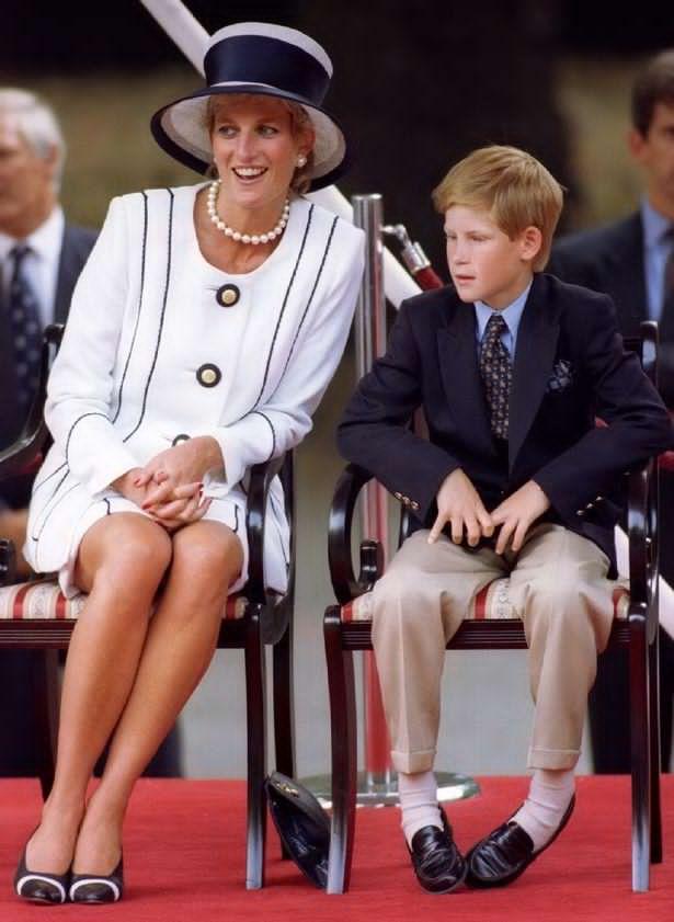 Prince Harry and mom