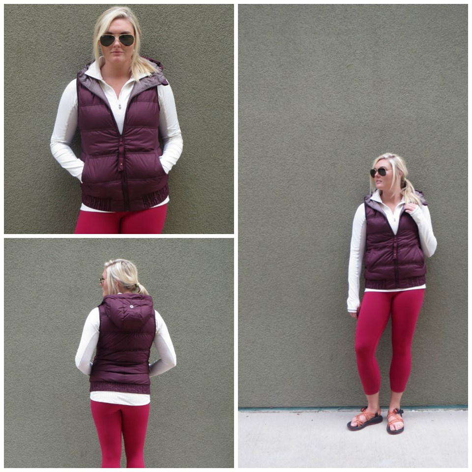 lululemon bumble berry wunder under crop