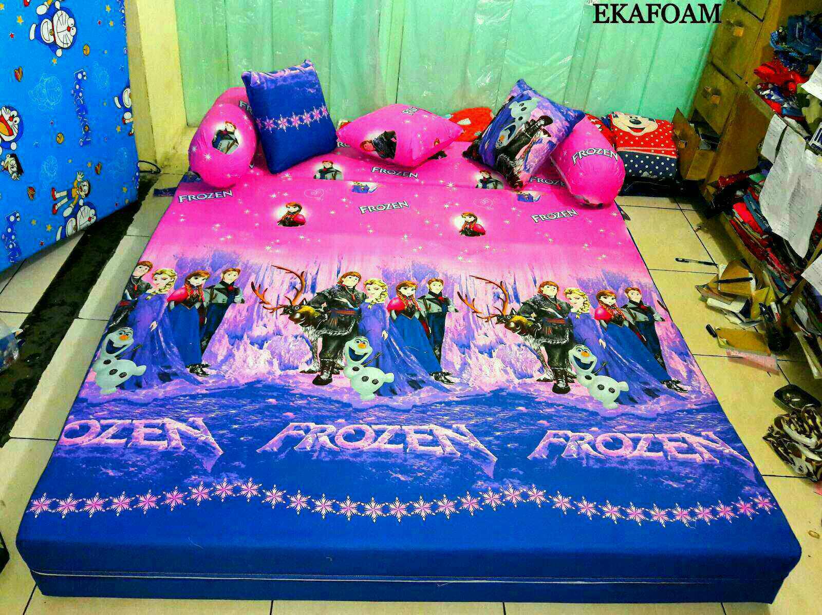 Sofa Bed Inoac 3 In 1 Best Cushions Filling 2018 Full Motif Agen Resmi Kasur Busa