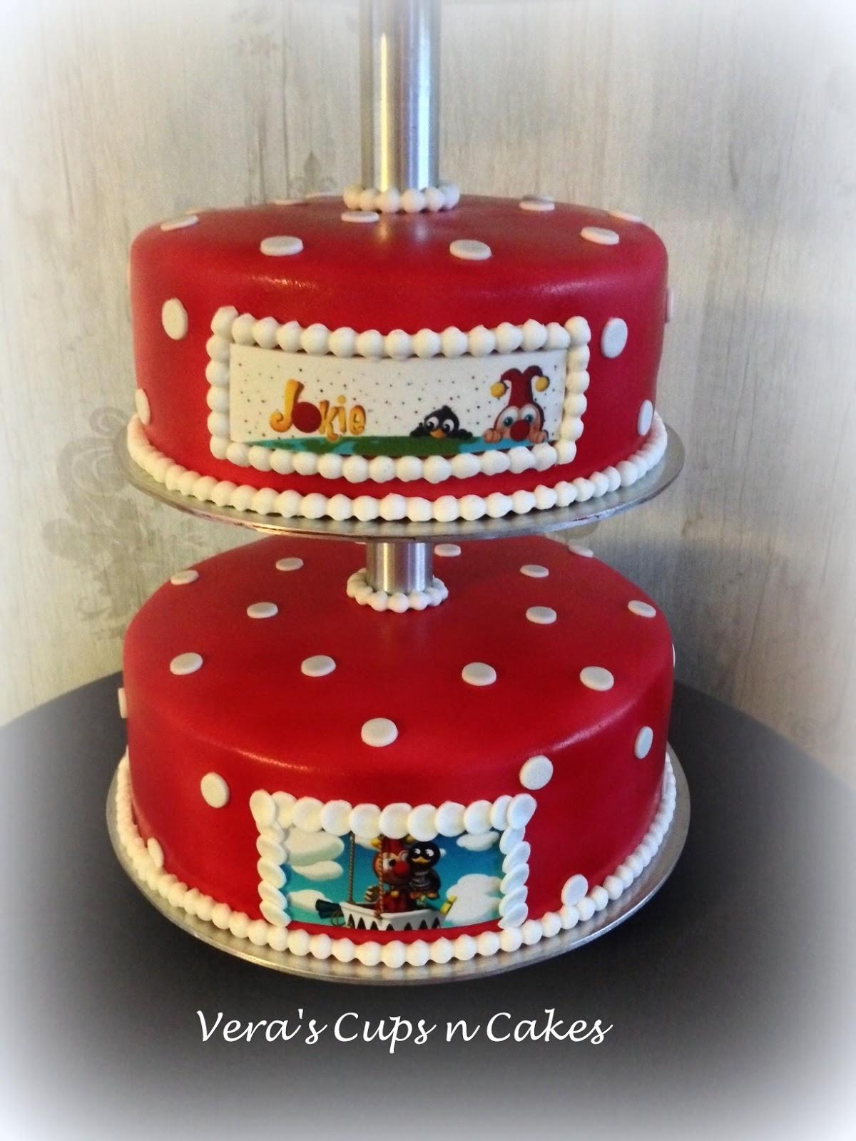 Super Jokie en Jet taart & Hello Kitty taart | Vera's cups n cakes #PA37