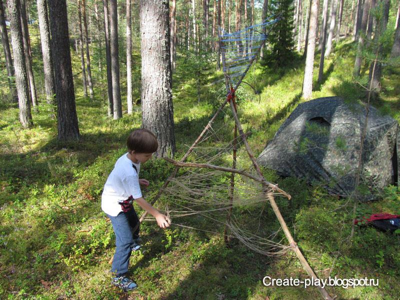 строим лесной домик