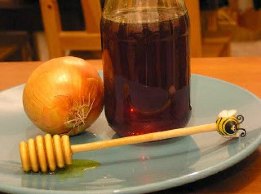 jarabe de cebolla con miel
