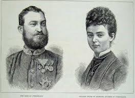 Znalezione obrazy dla zapytania wedding princess thyra of denmark and ernst august