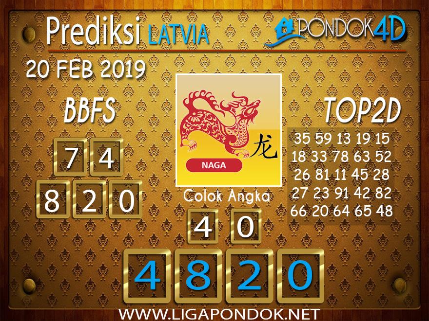 Prediksi Togel LATVIA PONDOK4D 20 FEBRUARI 2019