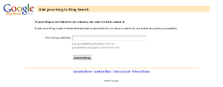 Cara Ping Blog Ke Google Agar Posting Terbaru Blog Anda Cepat Terindek Mesin Pencari Google