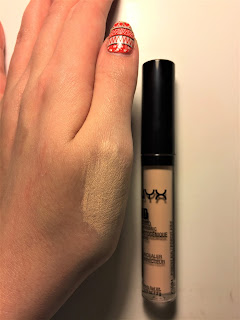 Nyx HD Concealer in 01 swatch