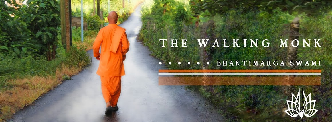 The Walking Monk