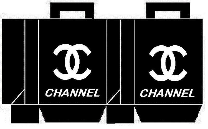 photo about Printable Chanel Logo called Awesome No cost Printable Chanel Bins. - Oh My Fiesta! in just english