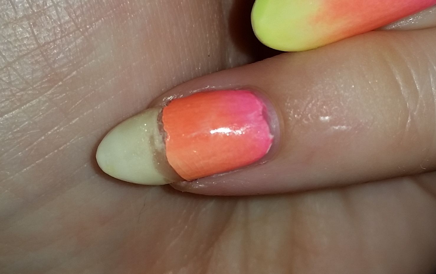 I Removed The Polish Which Luckily Didn T Hurt Because Wound Of My Torn Skin Had Healed By Then And Decided To Use A Jamberry Nail Wrap Hold It