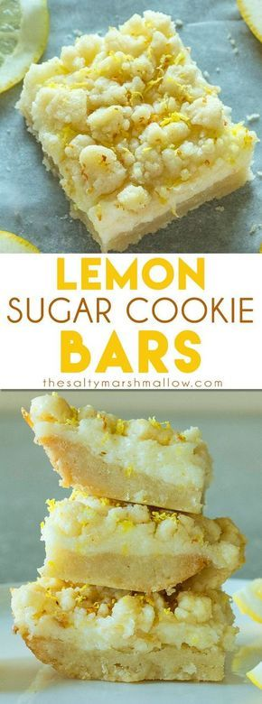 These easy lemon bars have a sweet sugar cookie crust topped with a tangy lemon cheesecake filling and then topped with more sugar cookie crumble. The perfect balance of sweet and tangy. This post was