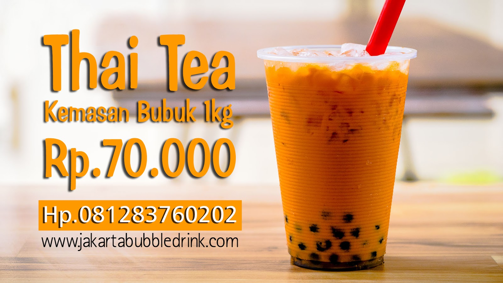 Jual Tower Thai Tea