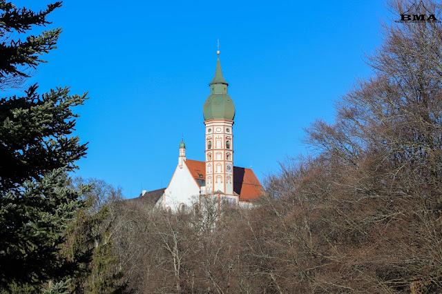 kloster andechs am ammersee - wanderung herrsching - münchen wandern