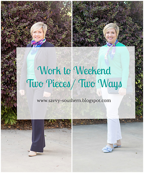 Work to weekend: Two pieces two ways