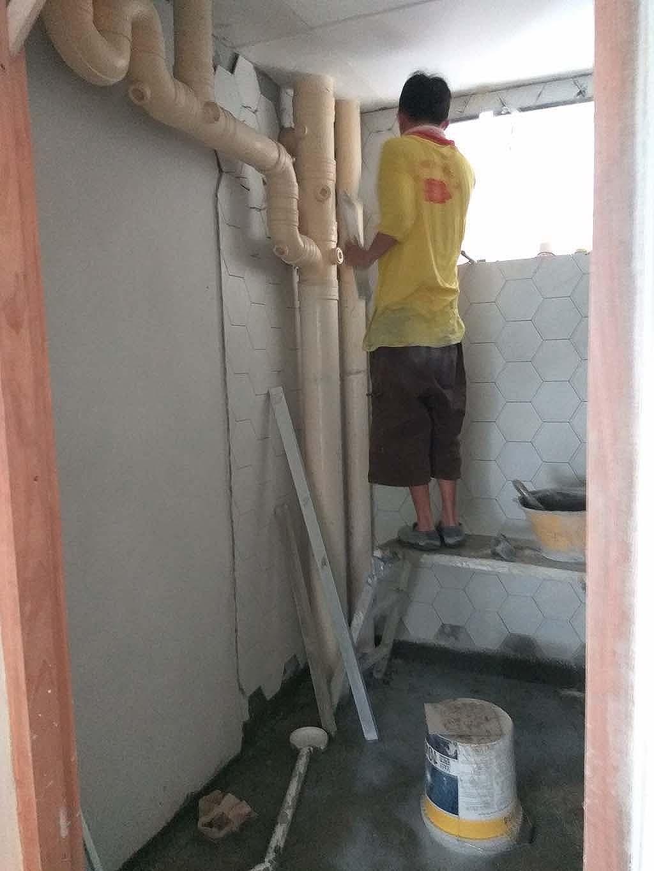 Butterpaperstudio Reno 644jw Tiling Works Still In Progress