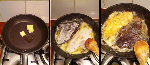 sole mugnaia, sole à la meunière, plaice à la meunière, plaice recipe, sole recipes, cooking soles, fish alla mugnaia, fish à la meunière