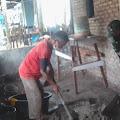 Babinsa Ikut Bantu Dalam Pembangunan RTLH