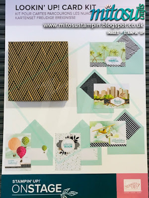 Lookin' Up Card Kit NEW Stampin' Up! Products #onstage2019 Display Board from Mitosu Crafts UK
