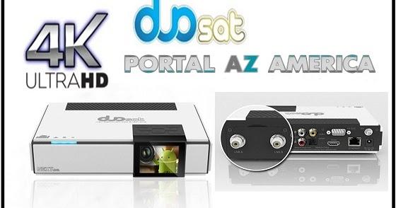 Resultado de imagem para DUOSAT NEXT UHD portal azamerica