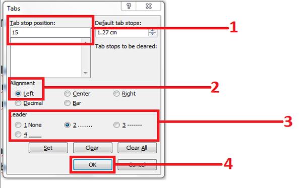 Cara Membuat Format Daftar isi Di Microsoft Office Wod 2010