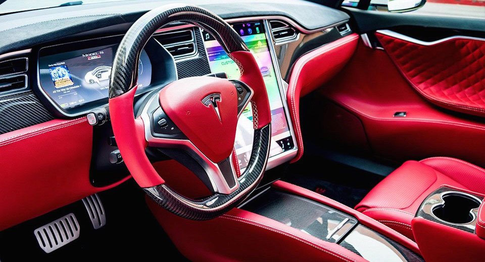 T Sportline Can Trim Your Tesla In Real Luscious Leather