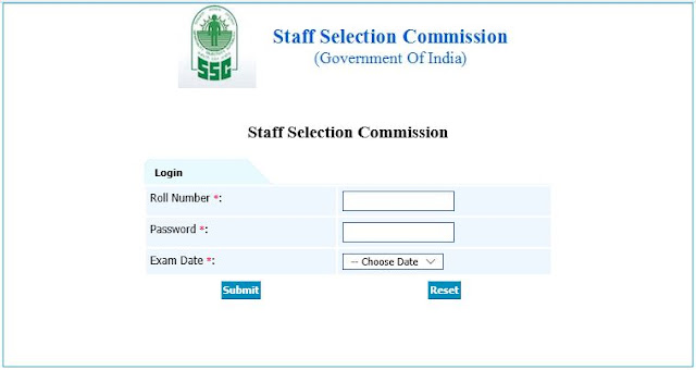 "[Notice] Answer Keys of SSC Stenographers Grade ""C"" & ""D"" Exam 2017- SSC Officer"