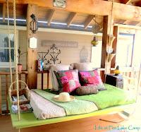 поделки для дачи,кровать для дачи,шезлонг для дачи