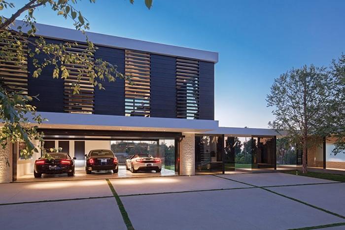 dünyanın en güzel evinin garajı