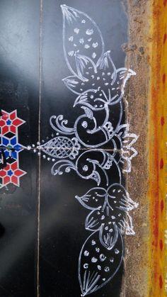13++ New Year 2020 Rangoli Designs