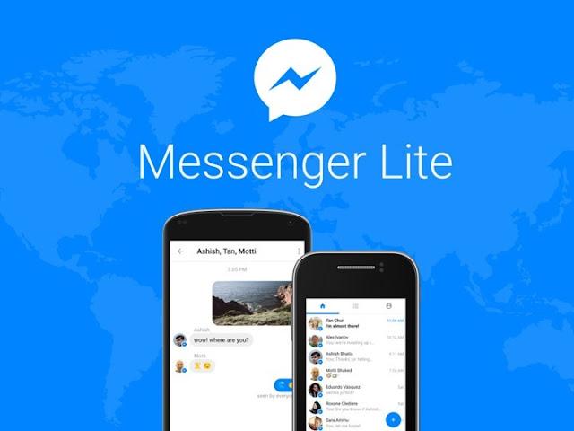 Facebook lança app Messenger Lite para Androids mais fracos!
