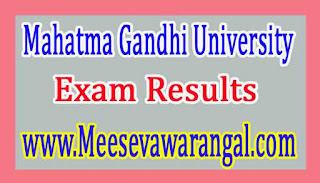 Mahatma Gandhi University MBA Ist / IIIrd Sem Backlog 2016 Exam Results