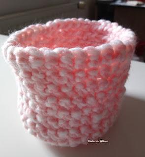 Bulles de Plume DIY Panier au crochet