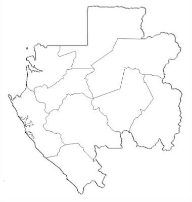 image: Blank white map