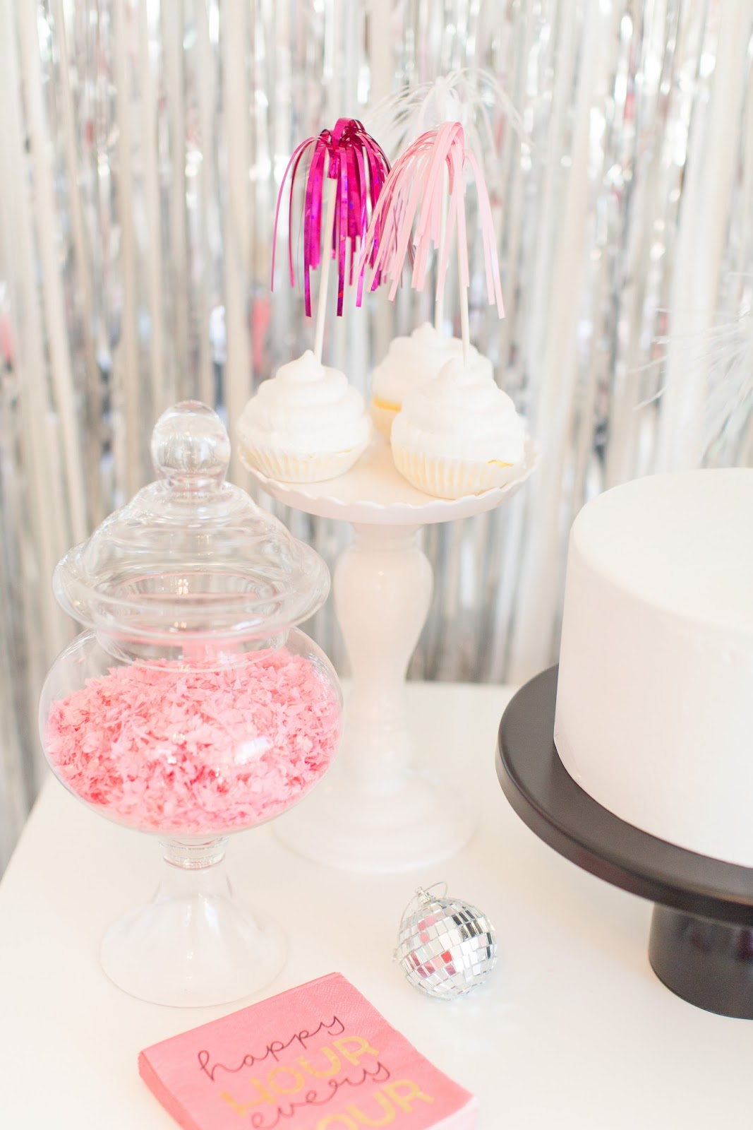 A Glam Sparkle and Shine Party by popular South Florida lifestyle blogger Celebration Stylist
