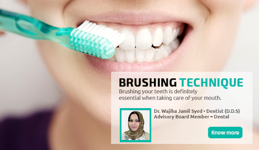 FOLLOW SIMPLE 8 STEPS OF BRUSHING
